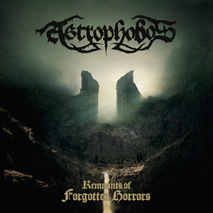 The cover of 'Astrophobos - Remnants of Forgotten Horrors'